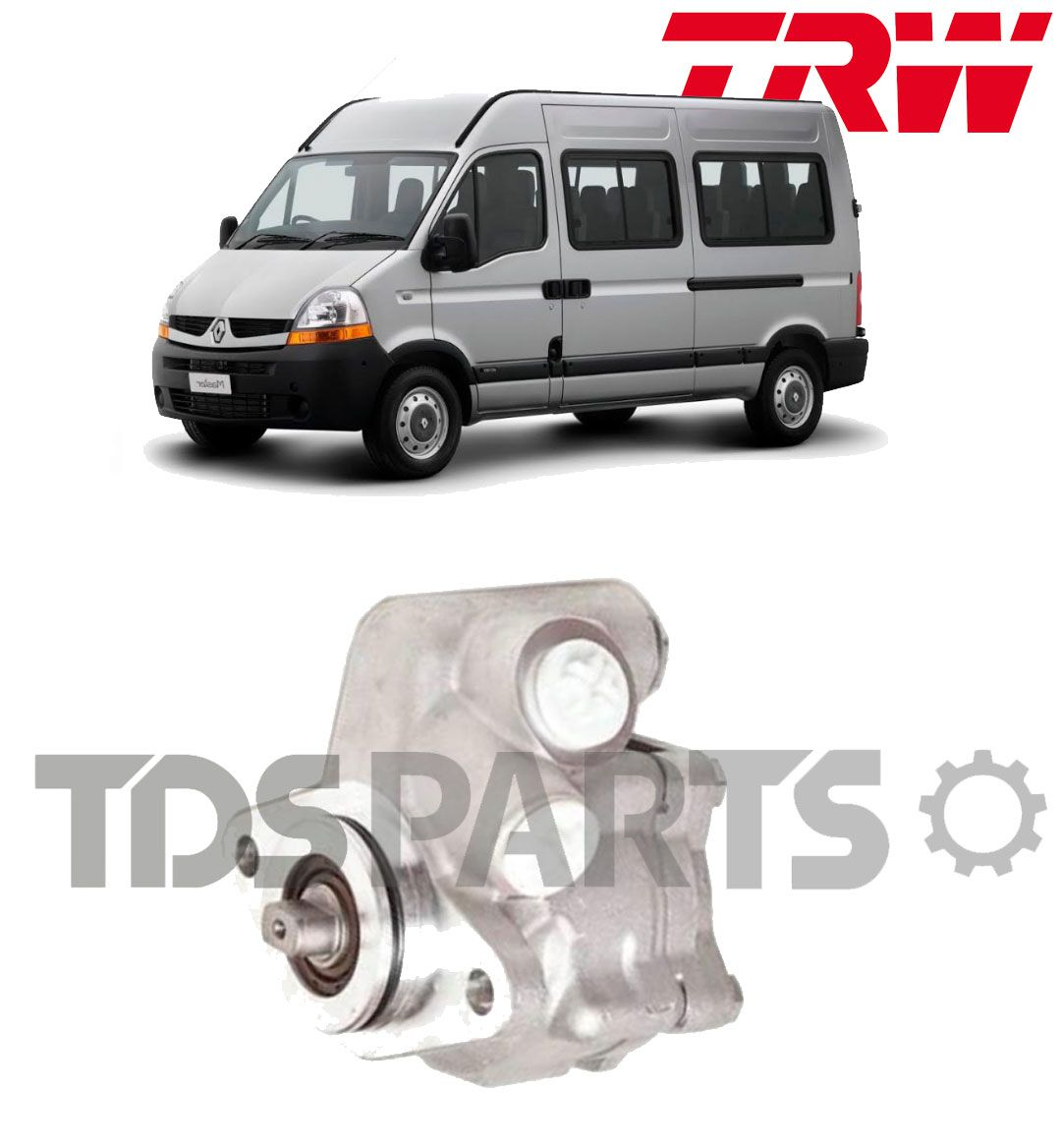 Bomba De Direção Hidráulica TRW Renault Master (acoplada)