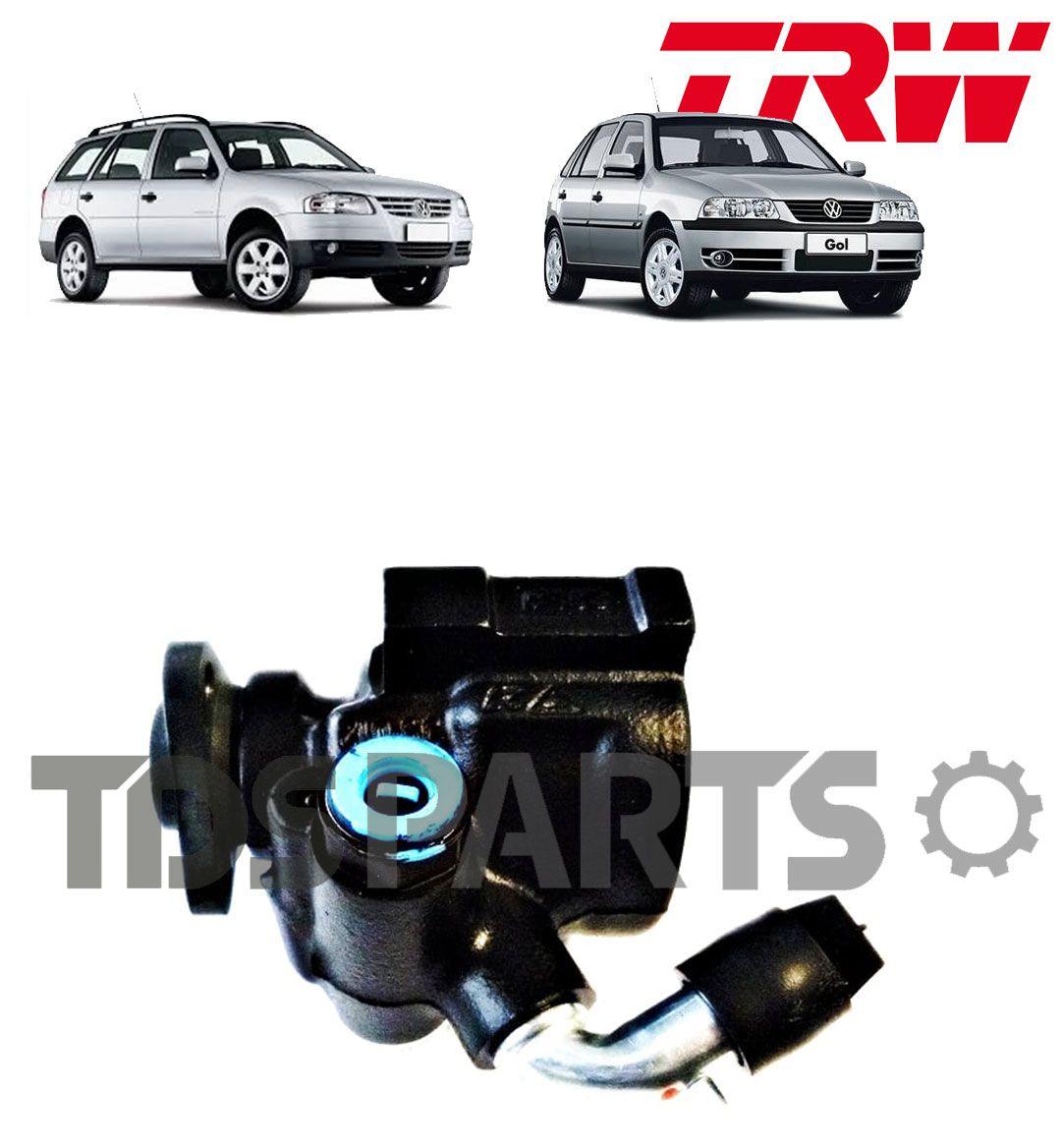 BOMBA DIREÇÃO HIDRAULICA TRW VW GOL 1.0 /PARATI 1.0  G2 E G3