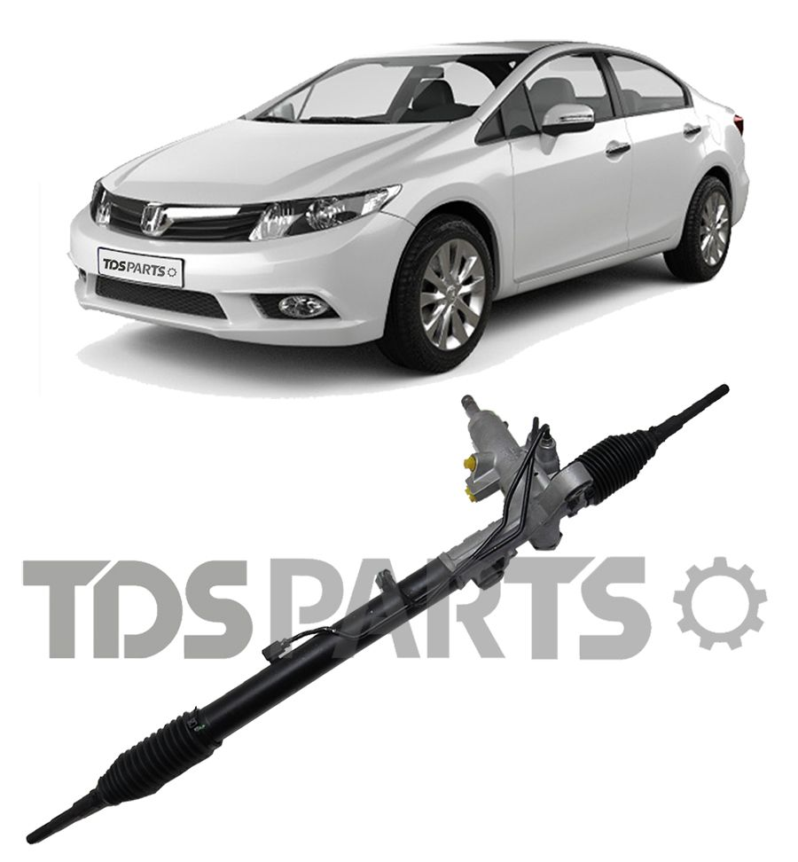 CAIXA DE DIREÇÃO HIDRAULICA REMANUFATURADA HONDA NEW CIVIC 06 A 11  CX SHOWA