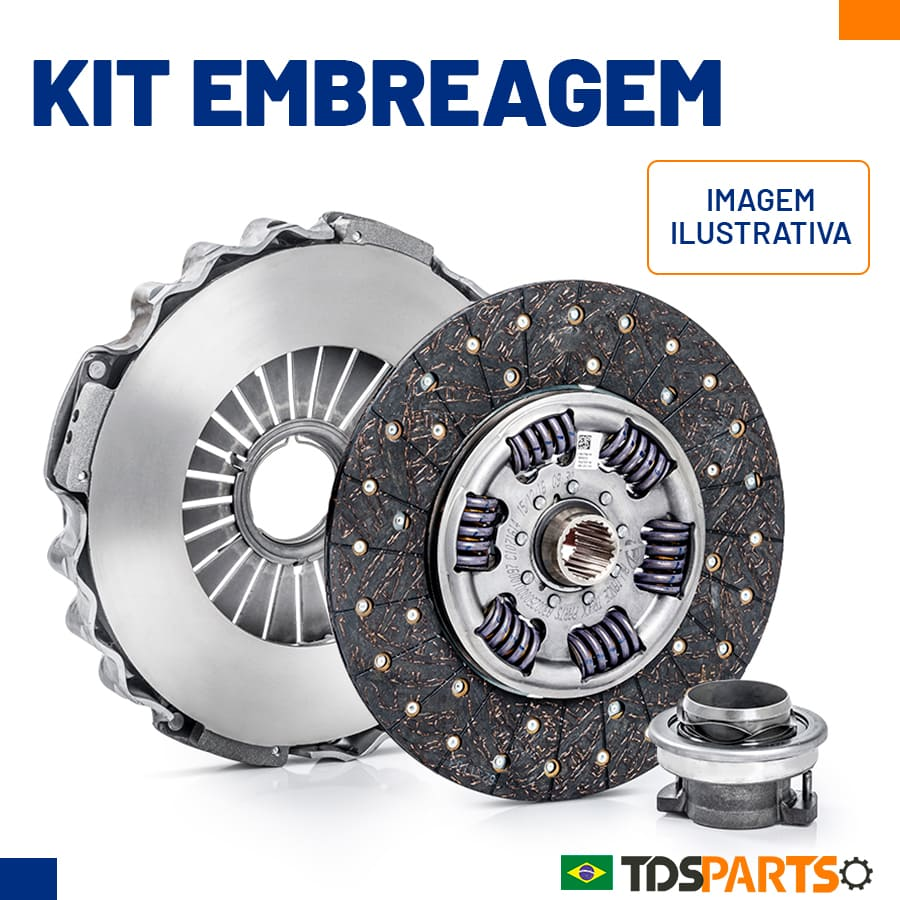 Kit de Embreagem Caminhões Ford e Volkswagen - 380mm