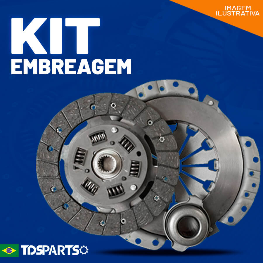 Kit de Embreagem FORD e Volkswagen - 330mm (Eletrônico)