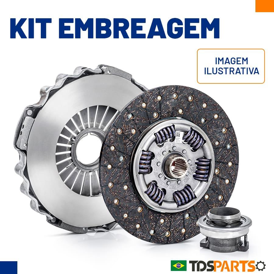 Kit Embreagem Mercedes - Caixa ZF - 350mm