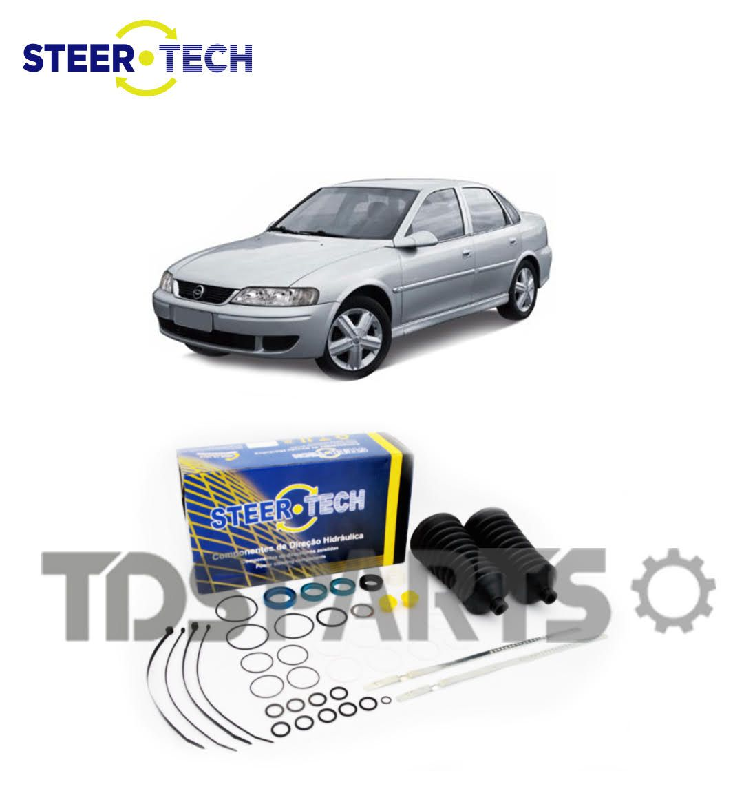 Reparo Caixa de Direção Hidráulica Chevrolet Vectra - Caixa DHB