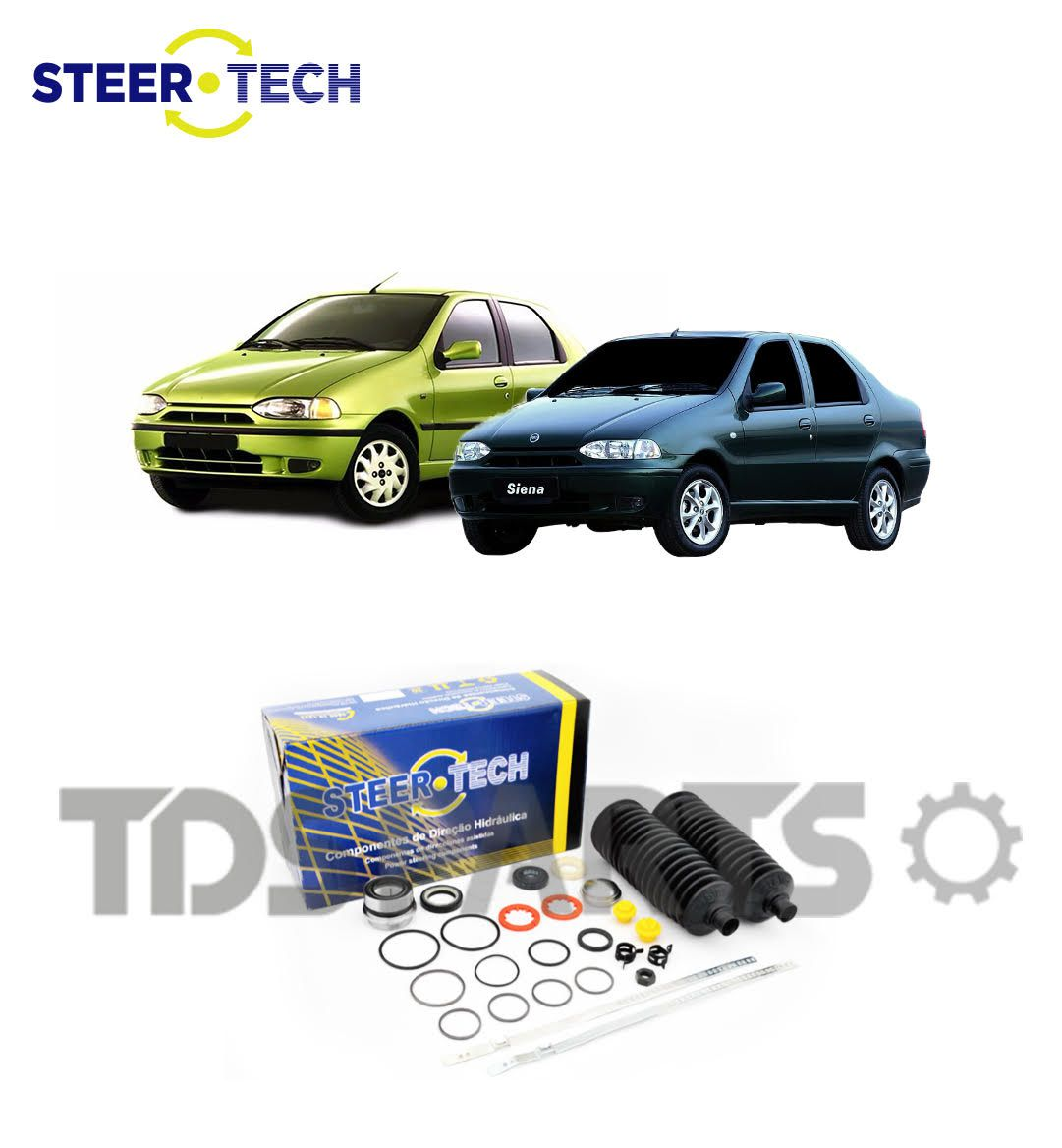 Reparo Caixa de Direção Hidráulica Fiat Palio | Siena Caixa TRW  22,5MM