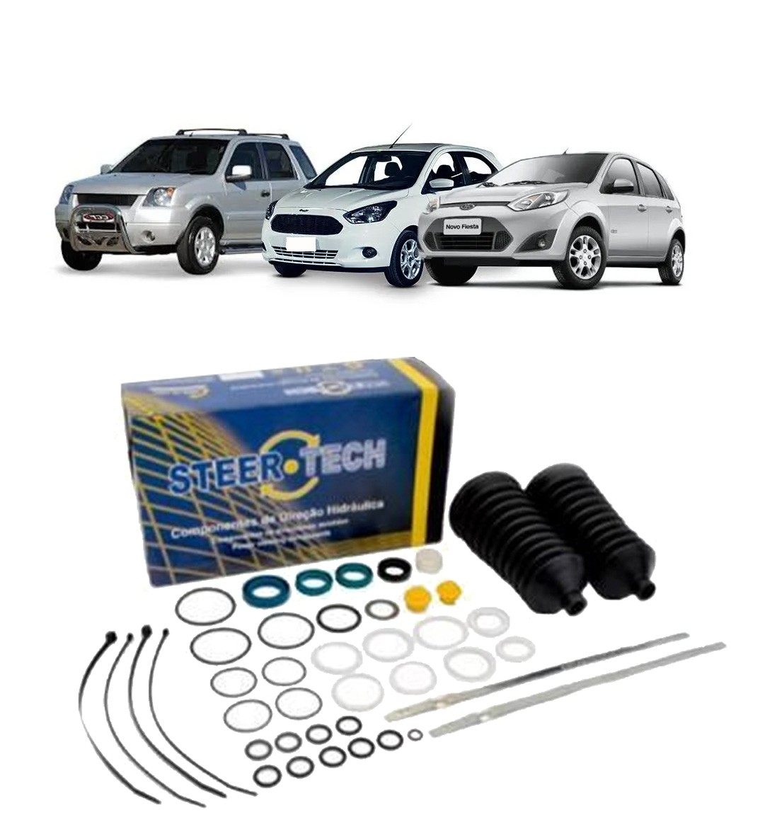 Reparo Caixa de Direção Hidráulica Fiesta | Ecosport | Ka Modelo Visteon