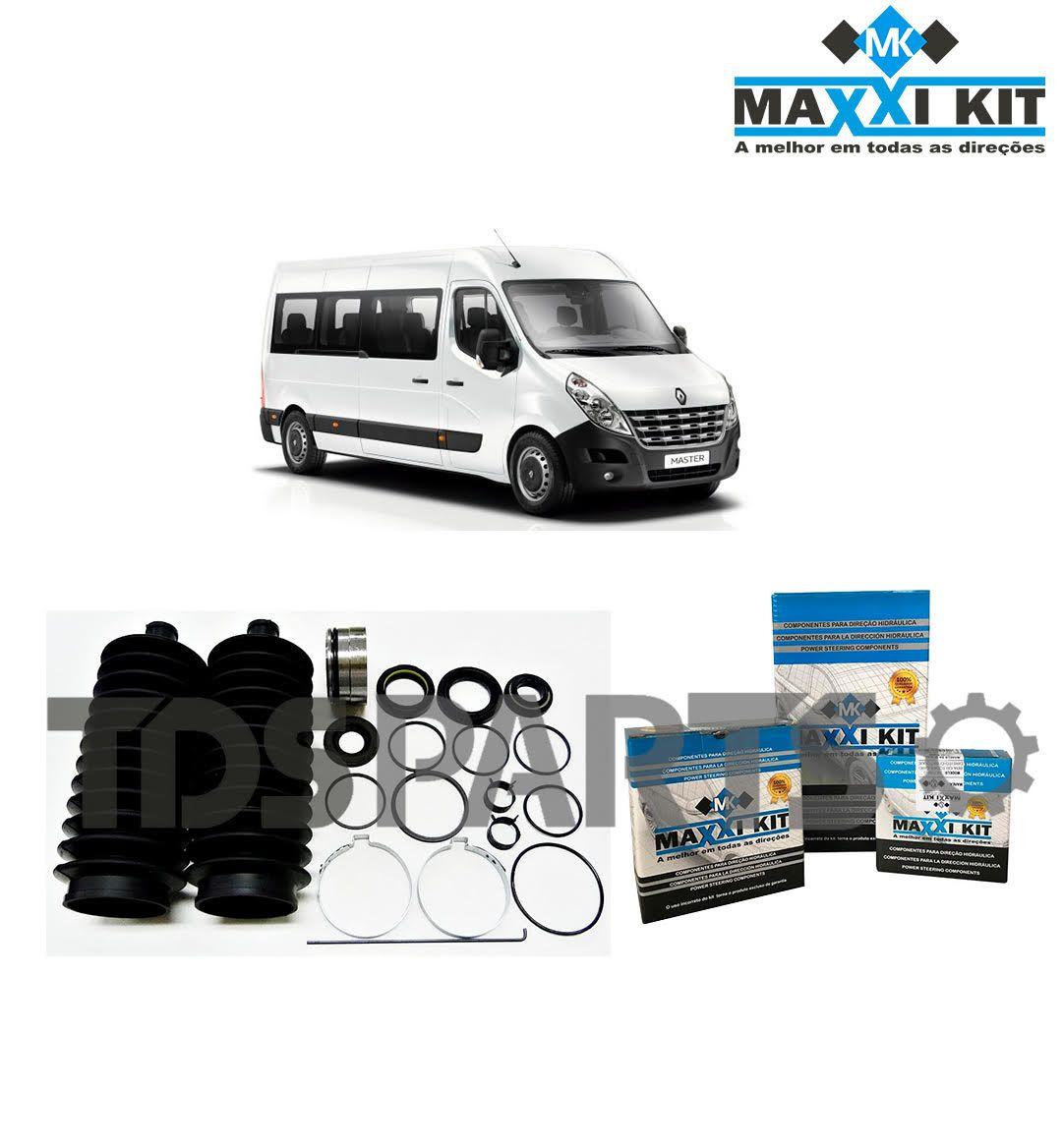Reparo Caixa de Direção Hidráulica Renault Master - Caixa JTEKT