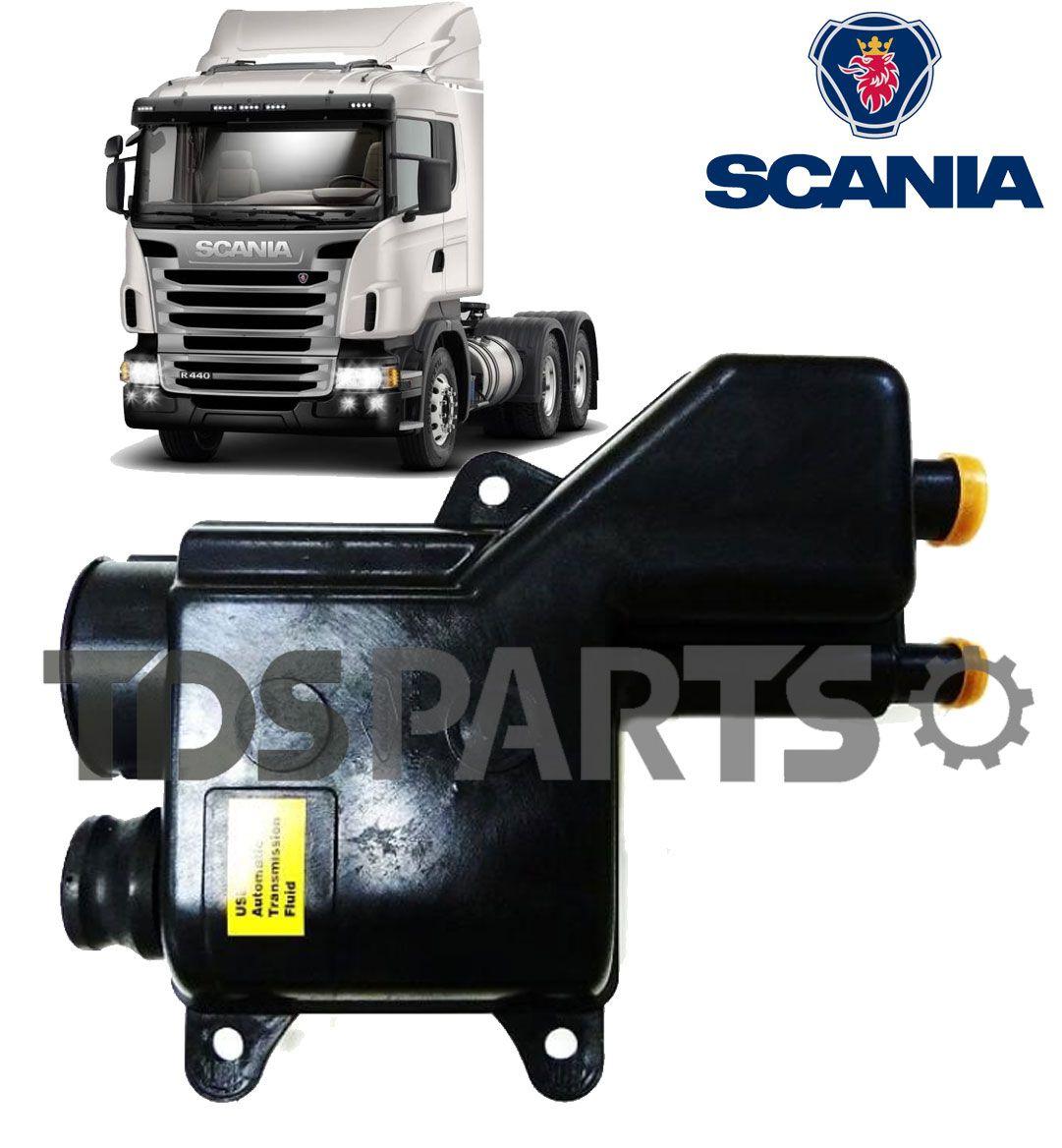 Reservatório De Óleo Hidráulico Scania Serie 4 | 124 | P94