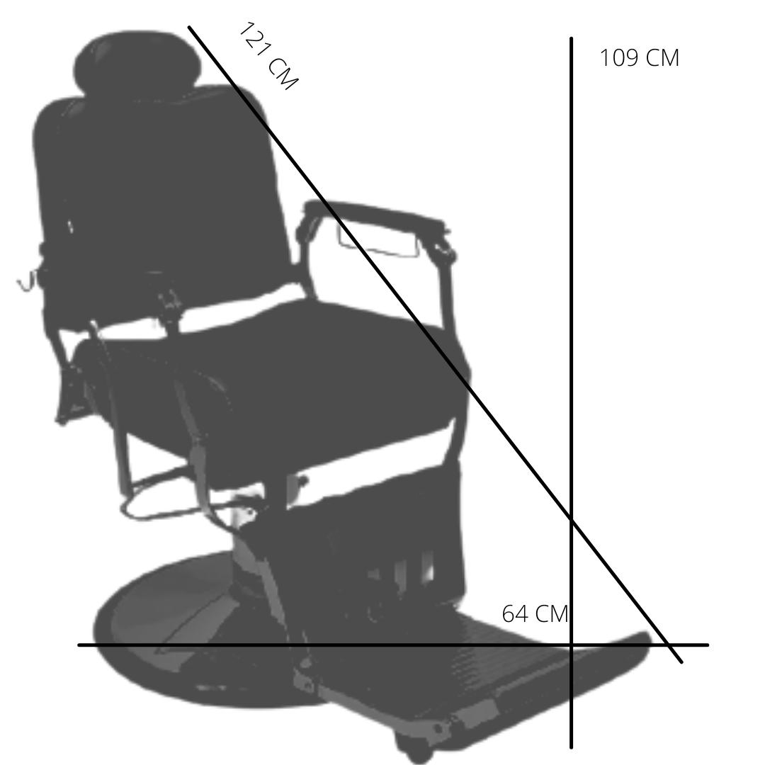 POLTRONA PICASSO reclinável base redonda