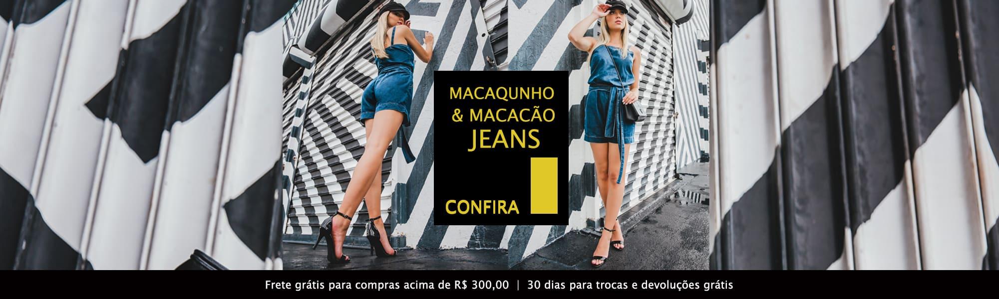 Macaquinho e Macação Jeans Latifundio - Confira!