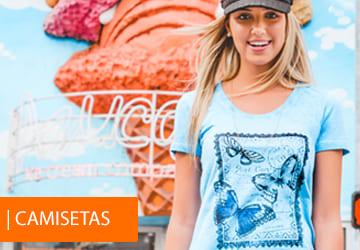 Camisetas Femininas Básicas, Estampadas, Regatas... Várias Cores e opções de modelos!