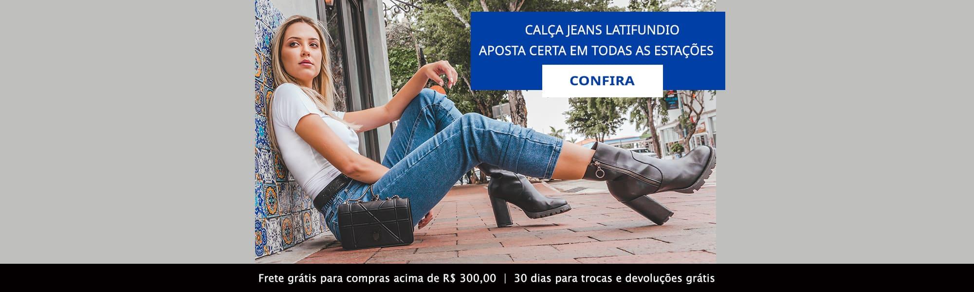 Calça Jeans Latifundio - Aposta certa em todas as estações!