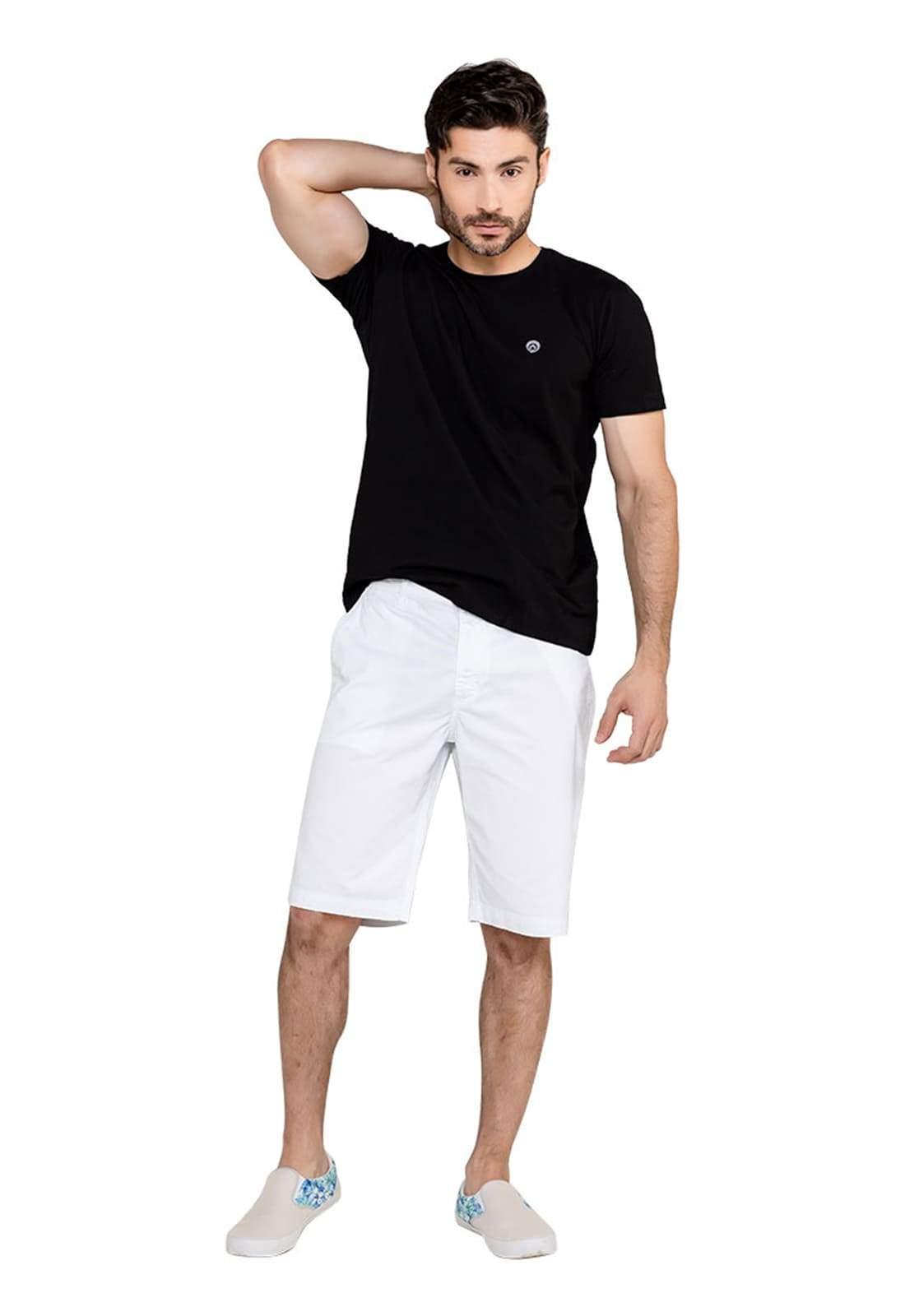 Bermuda Masculina Classic Branco