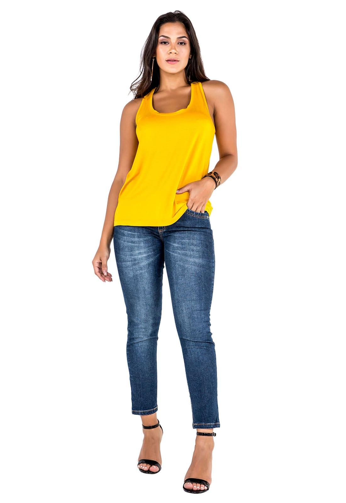 Look Amarelo Mixado