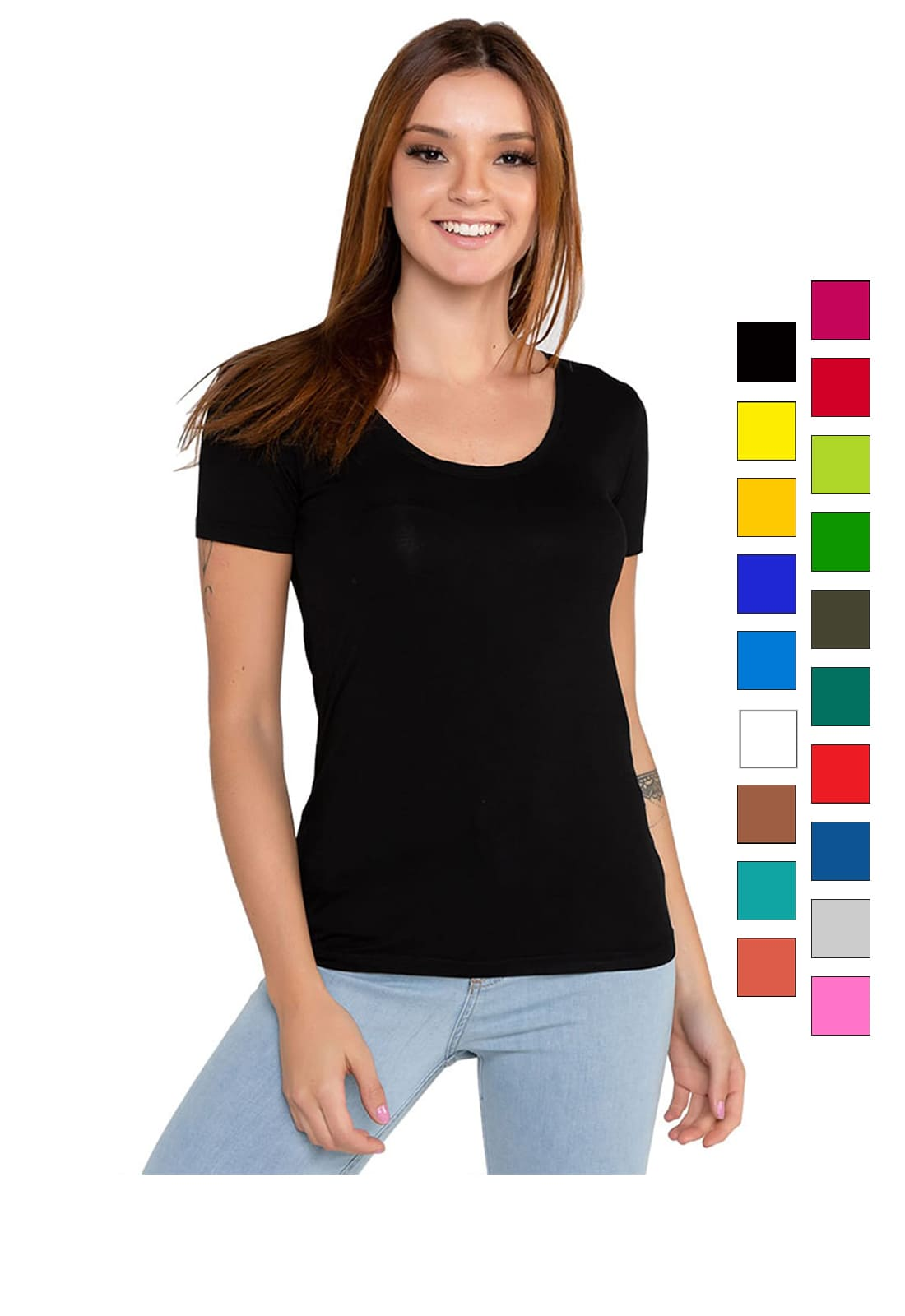 Blusa Camiseta Feminina Manga Curta Latifundio