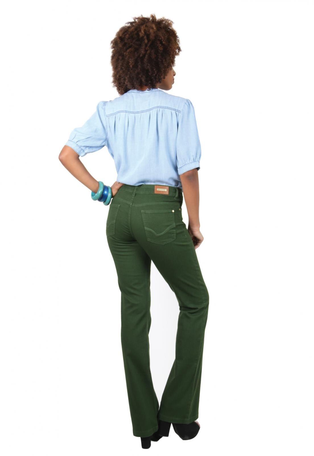 Blusa Jeans Latifundio com Botão