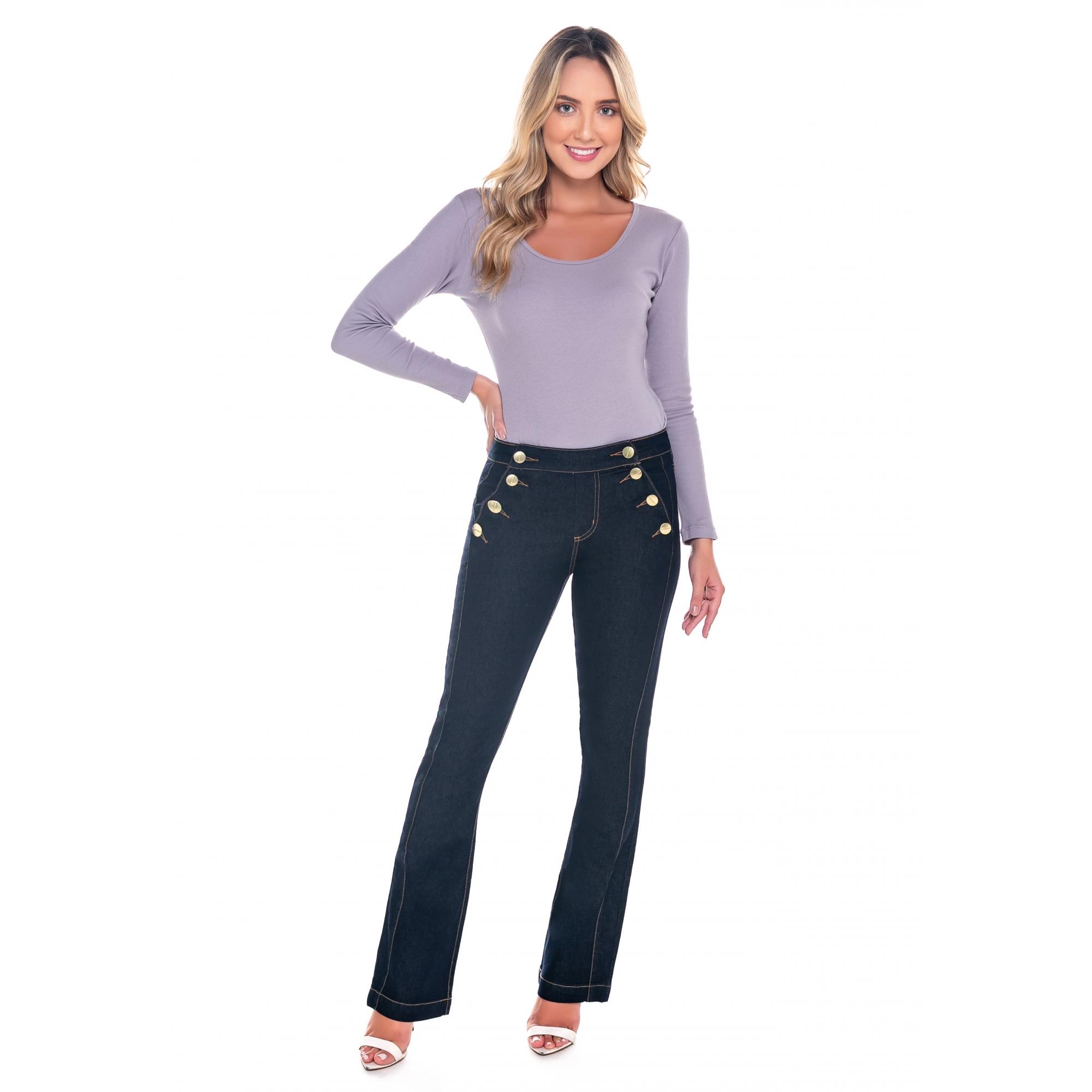 Calça Feminina Latifundio Boot Cut Jeans