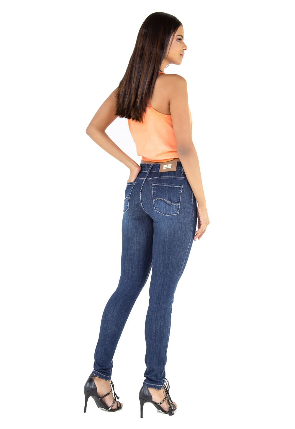 Calça Feminina Tradicional Cigarrete Jeans