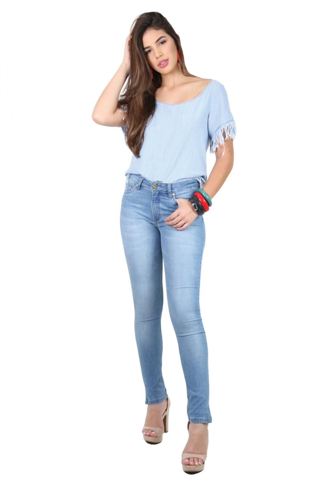 Calça Flare Jeans Tradicional