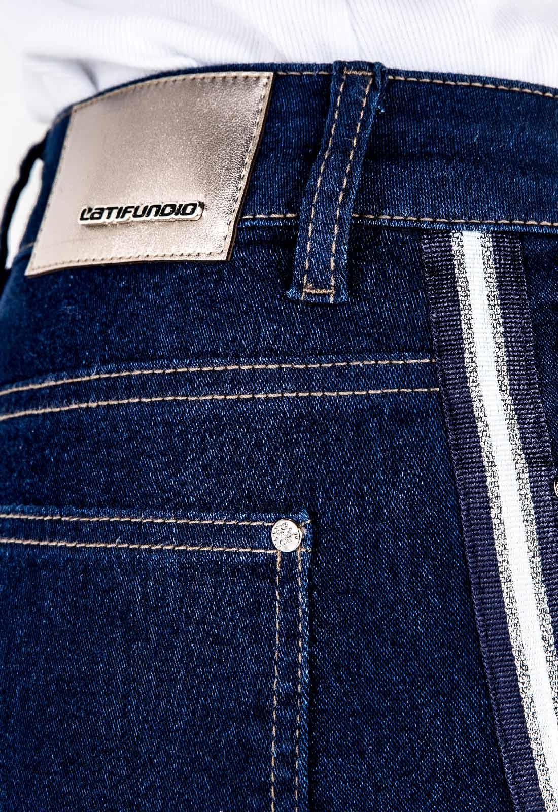 Calça Jeans Feminina Cropped Tradicional