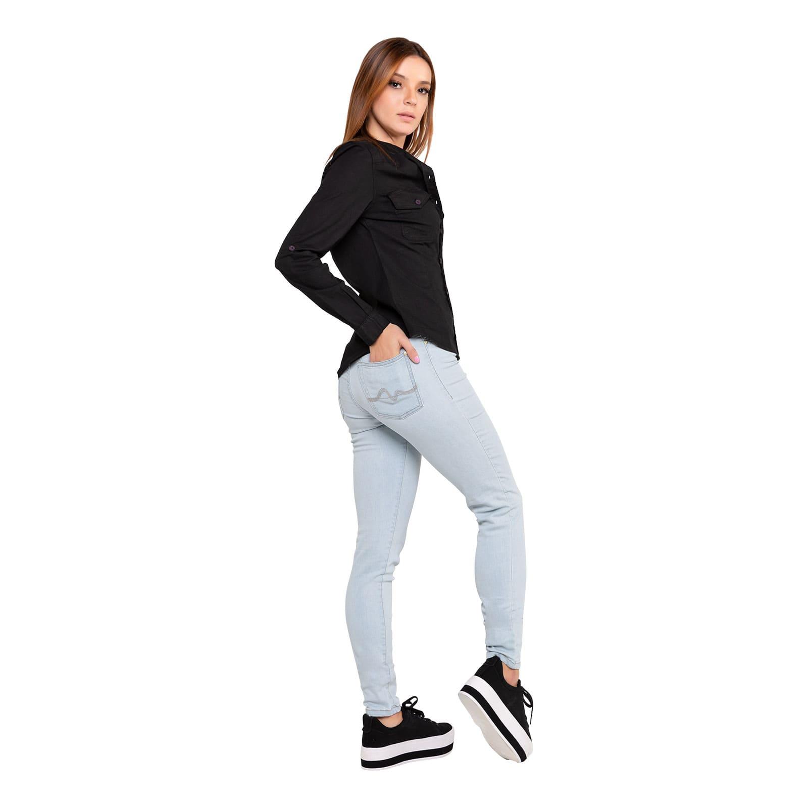 Calça Jeans Feminina Tradicional Skinny