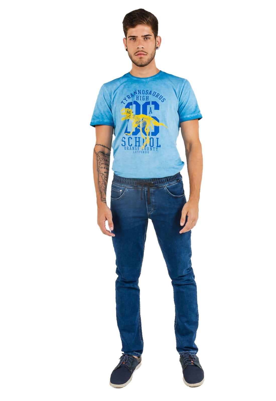 Calça Jeans Masculina Latifundio Jogger
