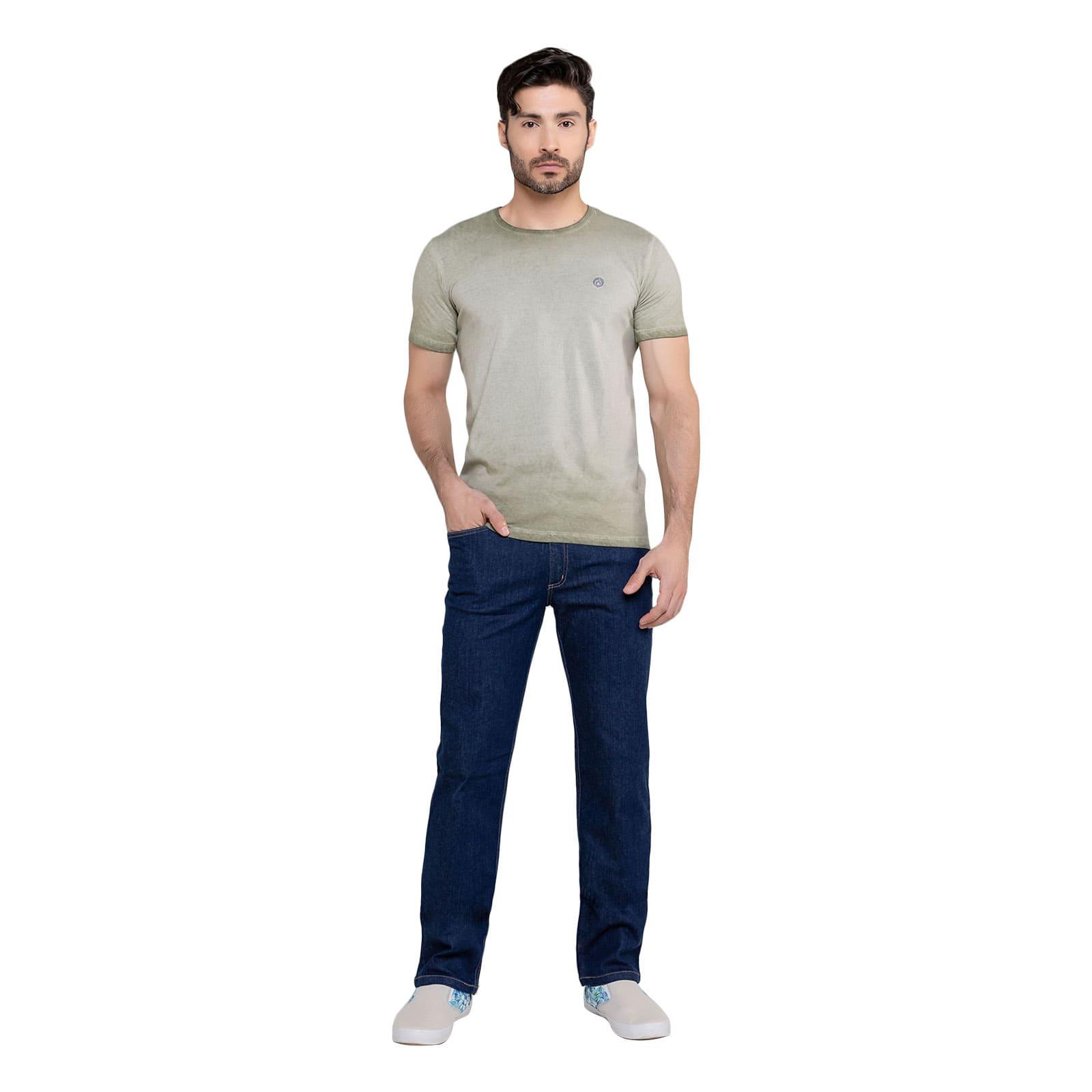 Calça Jeans Masculina Reta