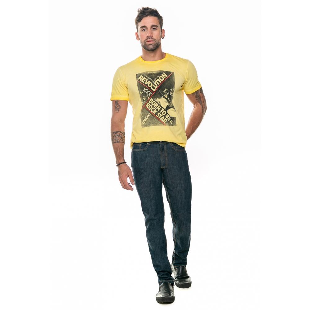Calça Masculina Reta Jeans