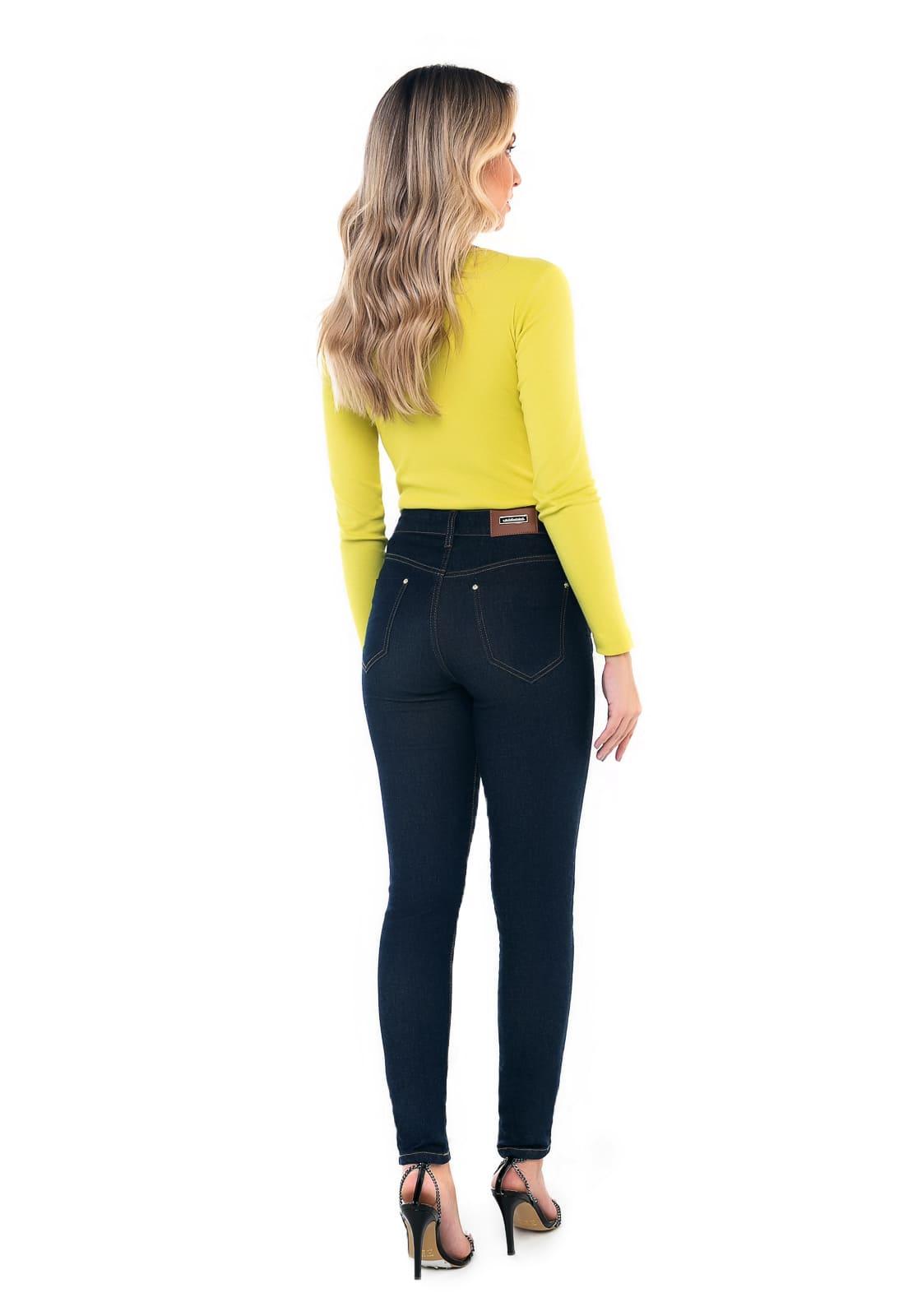 Calça Skinny Alta Jeans
