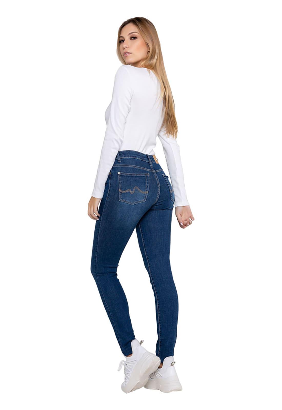 Calça Tradicional Feminina Jeans Skinny