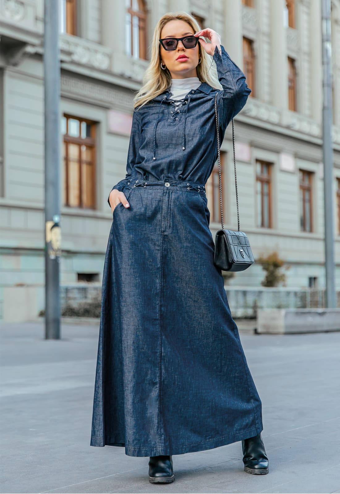 Look Total Denim