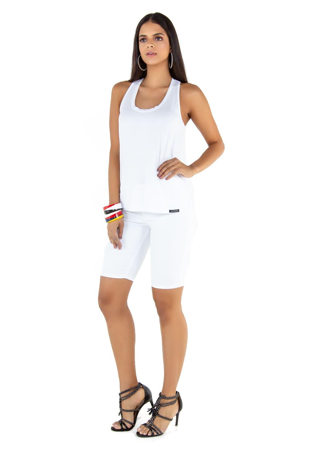 Camiseta Regata Branco