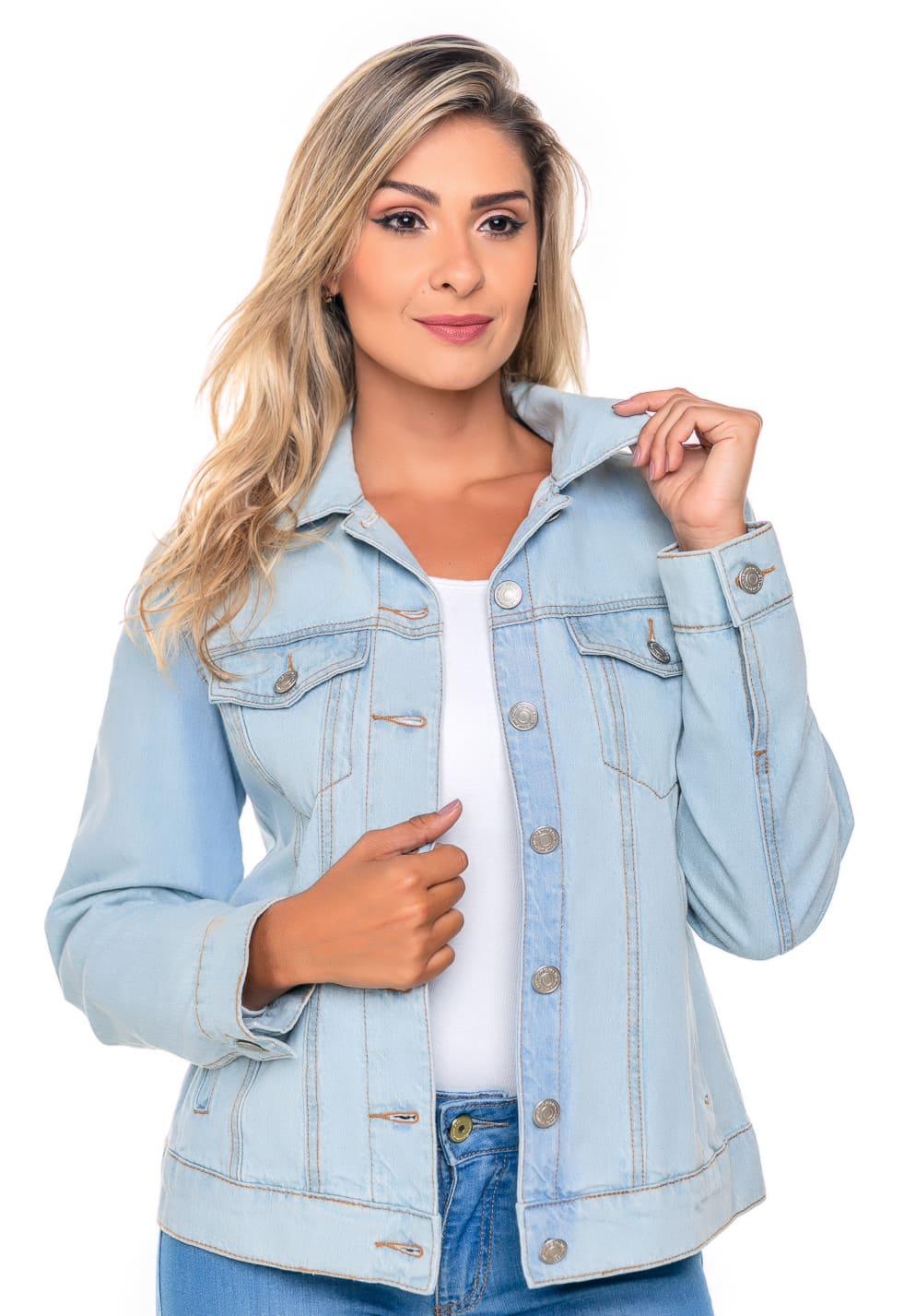 Jaqueta Jeans Feminina