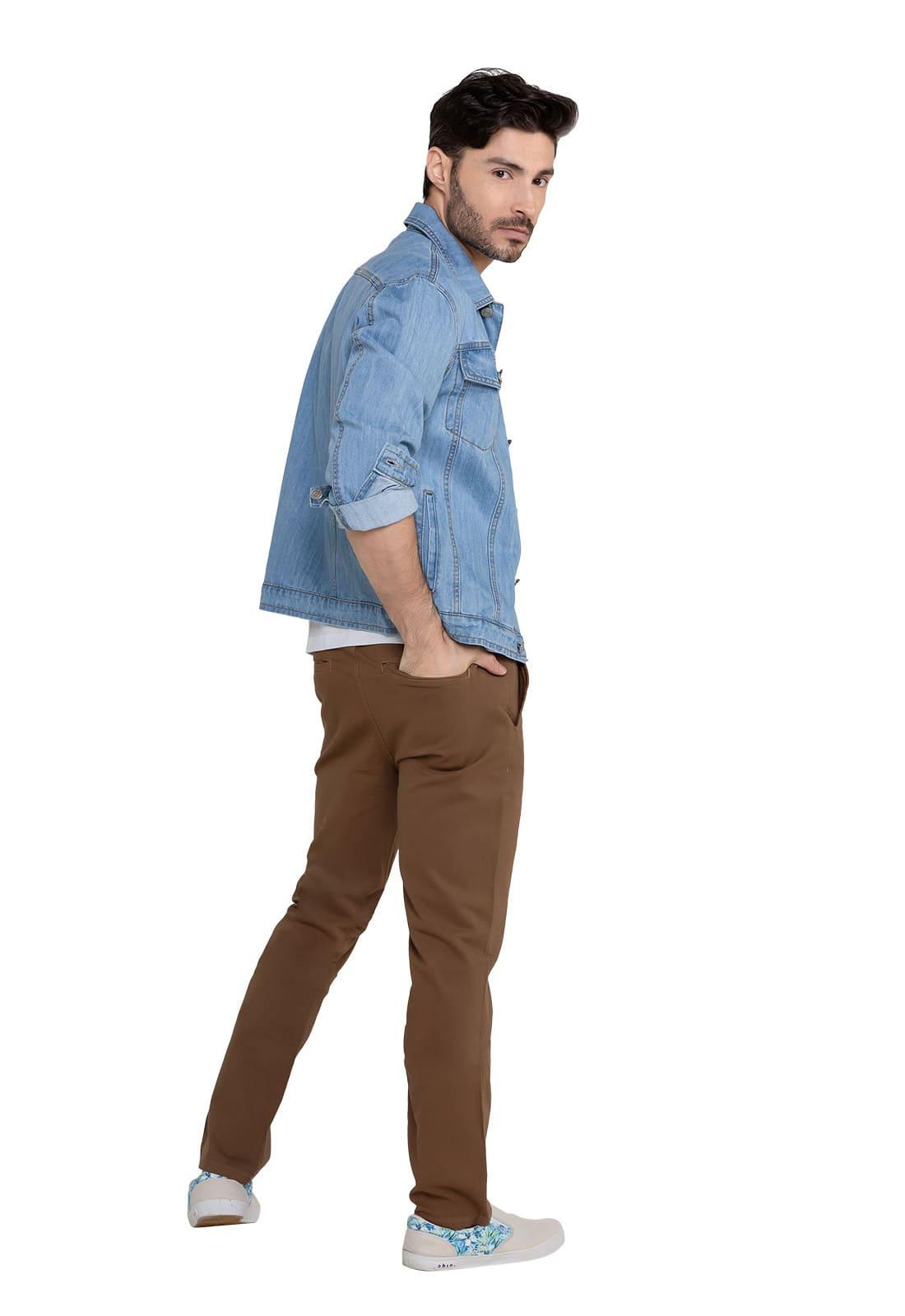 Jaqueta Jeans Masculina Sky Clean