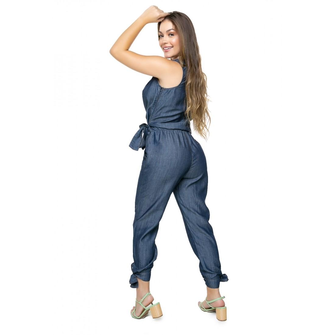 Macacão Jeans Liocel