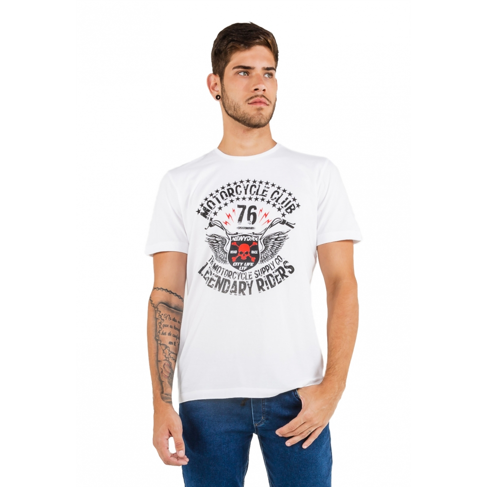 T-shirt Camiseta Masculina Latifundio Motorcycle Club