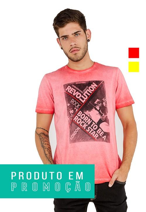 T-shirt Camiseta Masculina Latifundio Rock Star