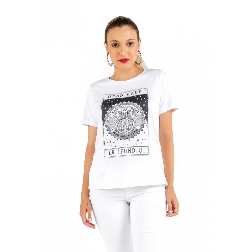 T-shirt Feminina Estampa Latifúndio