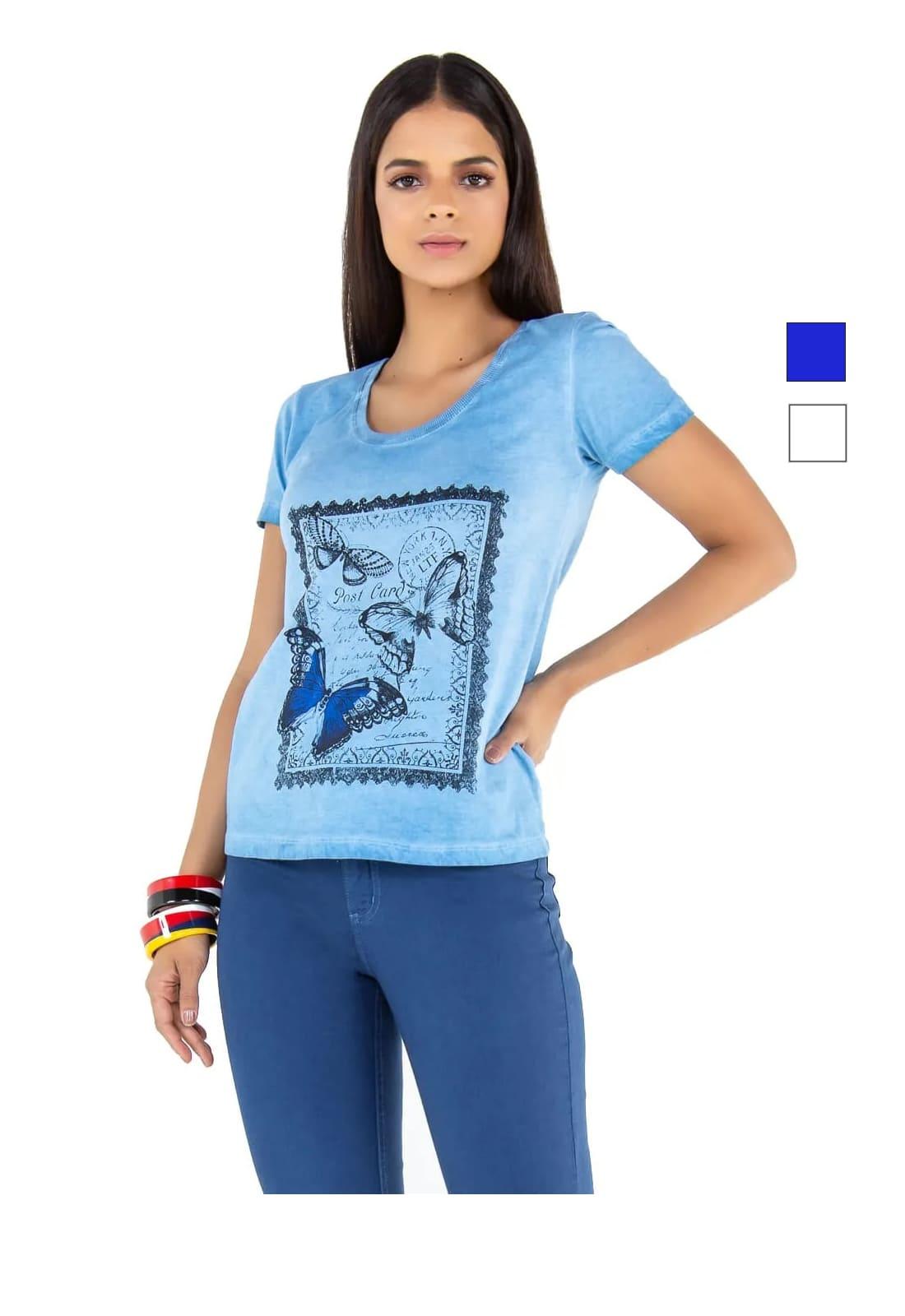 T-shirt Feminina Latifundio Butterfly