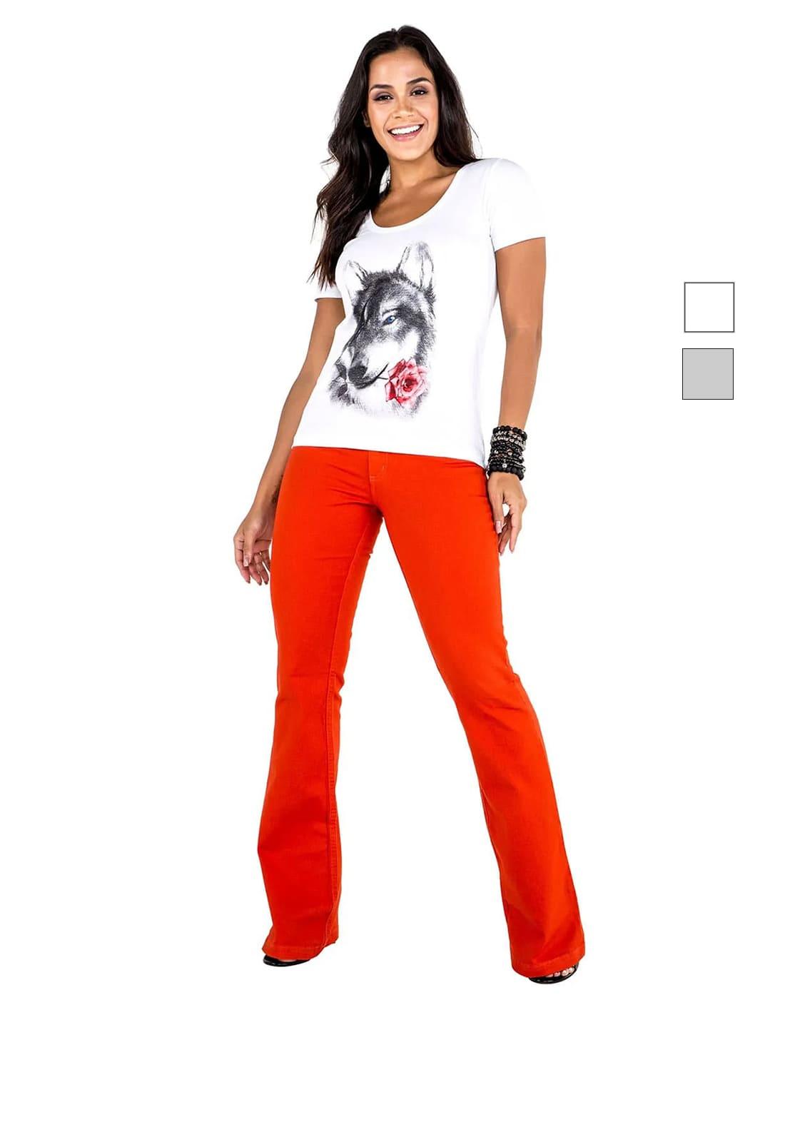 T-shirt Feminina Latifundio Wolf