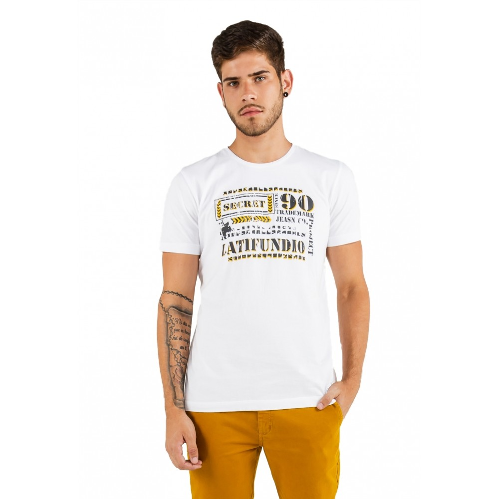 T-shirt Masculina estampada Secret Latifúndio