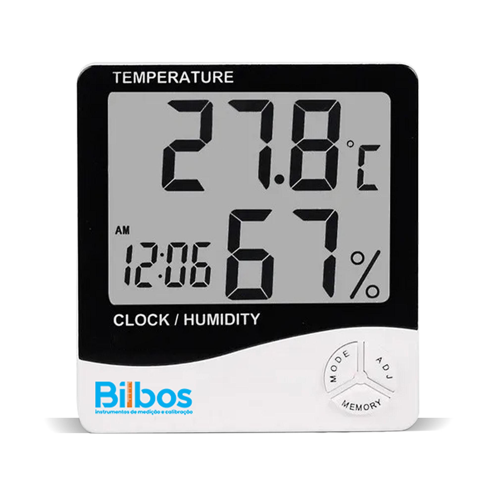 BL-01 Termohigrômetro Digital Parede Mesa - Termo-Higrômetro