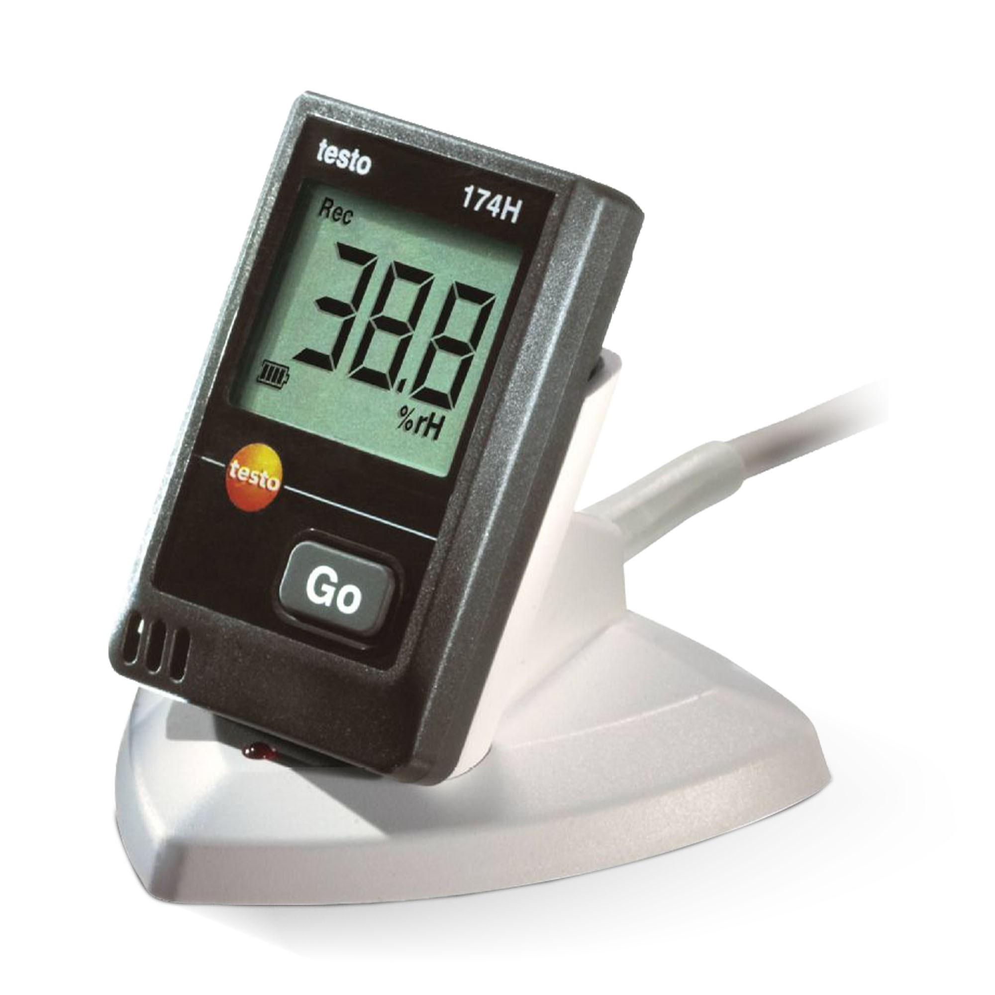 KIT TESTO 174H - Mini datalogger para temperatura e umidade