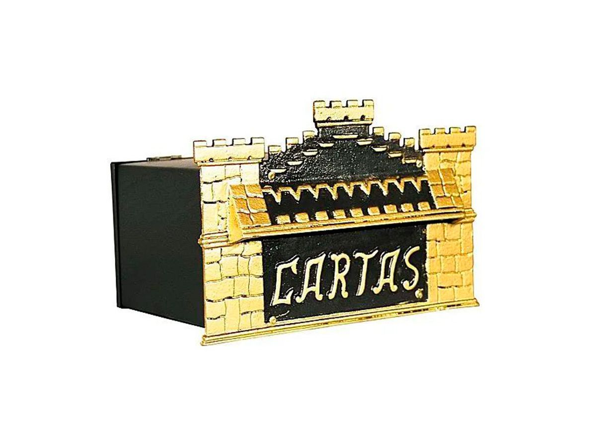 Caixa de Correio Castelinho Alumínio e Chapa 15x25cm