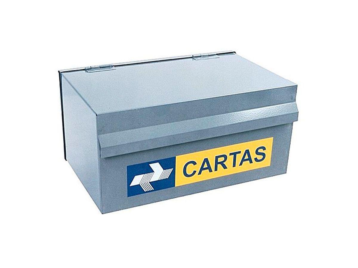 Caixa de Correio e Cartas Popular em Chapa de Aço 15x25cm