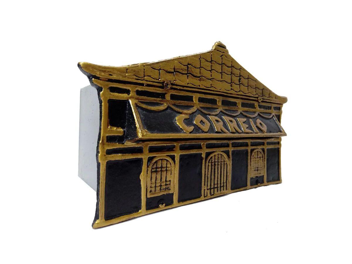 Caixa De Correio Frente Chinesa 15x25x12cm