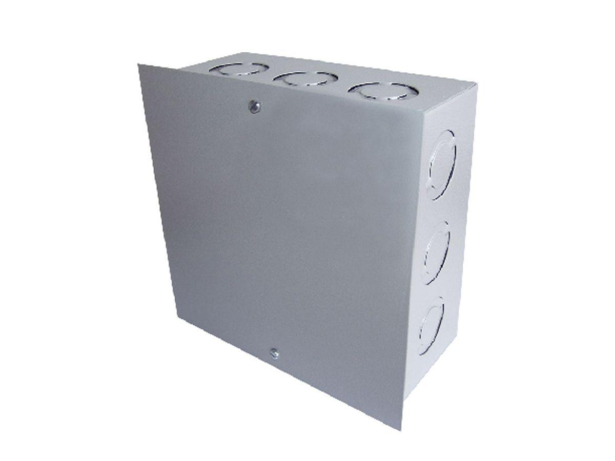 Caixa De Passagem Ligação Embutir Quadrada 10x10x8cm