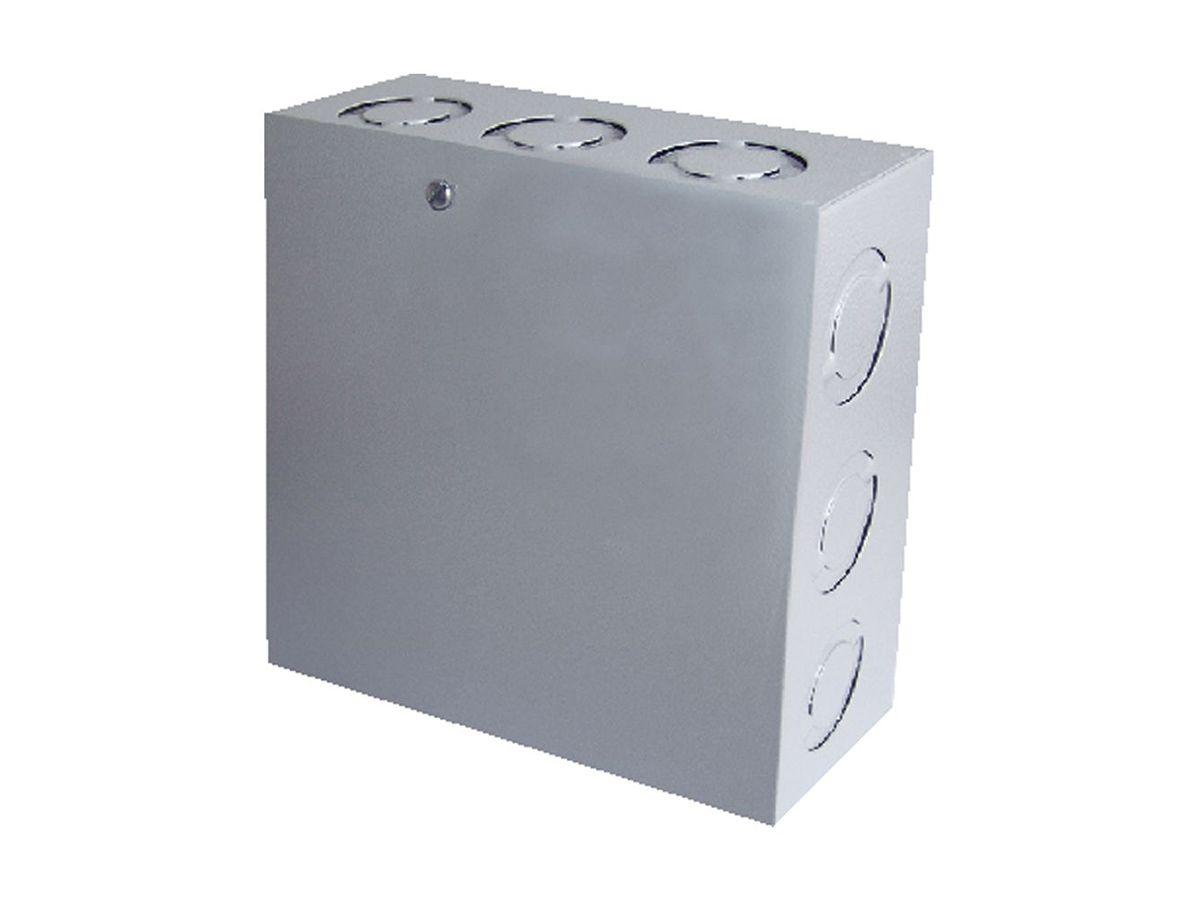 Caixa De Passagem Ligação Sobrepor Quadrada 20x20x10cm