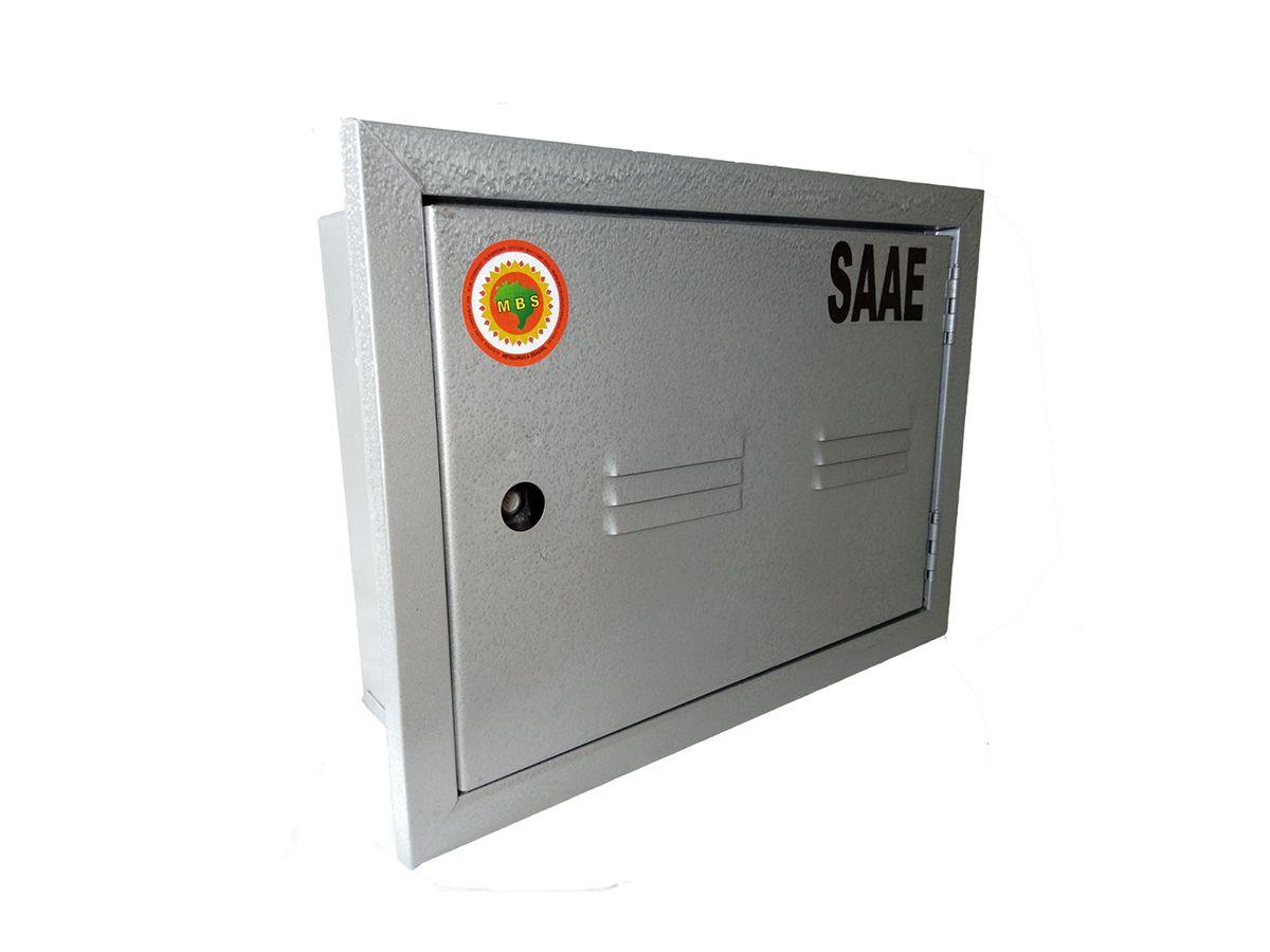 Caixa Proteção Com Porta Fechada Saee 38x27x12cm