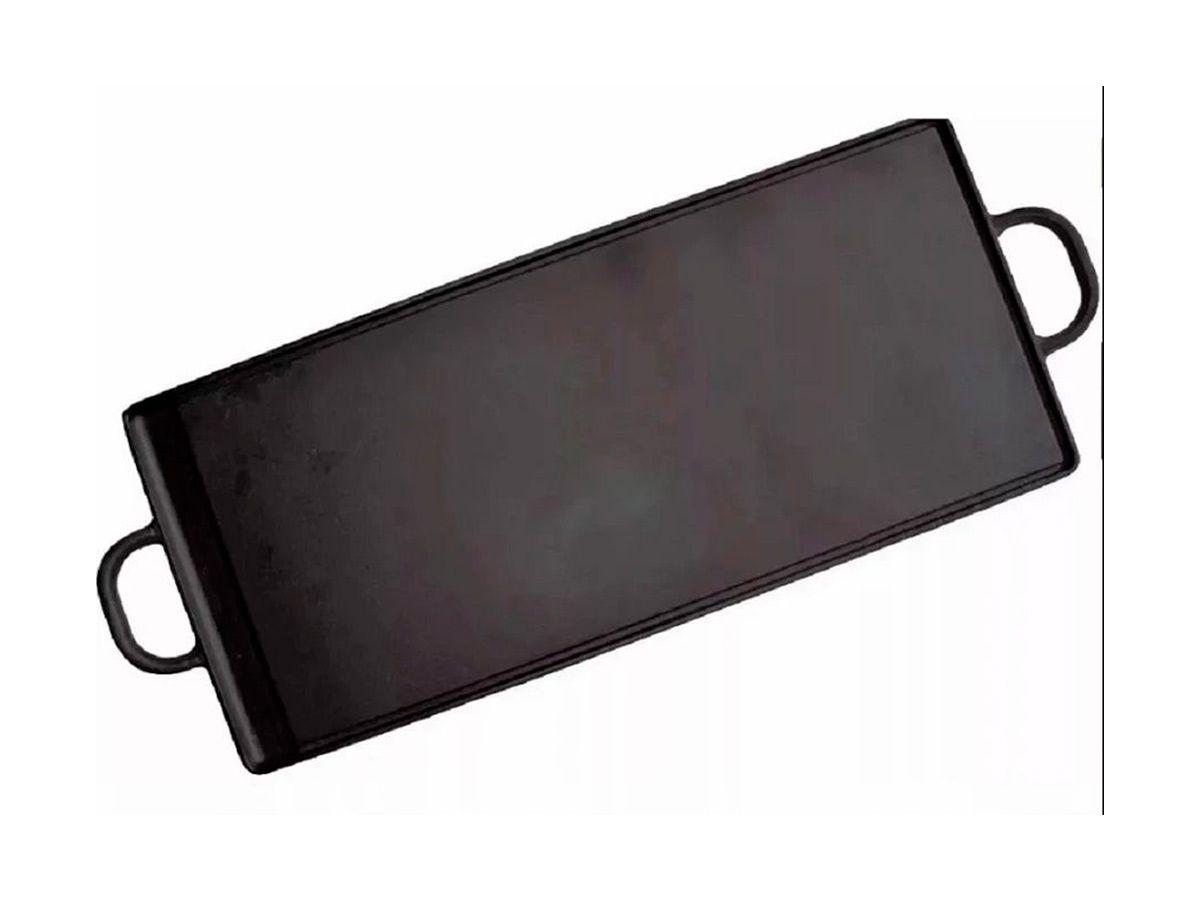 Chapa de Ferro Fundido Com Alças de Ferro - Medidas 40x90cm