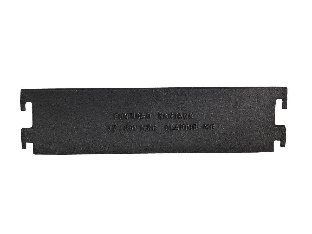 Churrasqueira Desmontável Ferro Fundido Santana 40x28x20cm